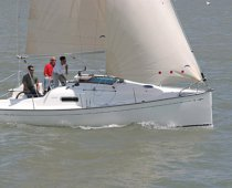 Rent racing sailboat