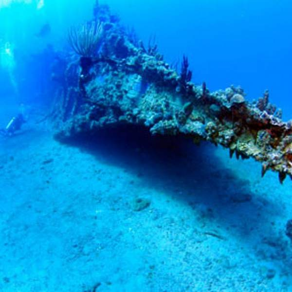 Discover the wreck of the RMS Rhone