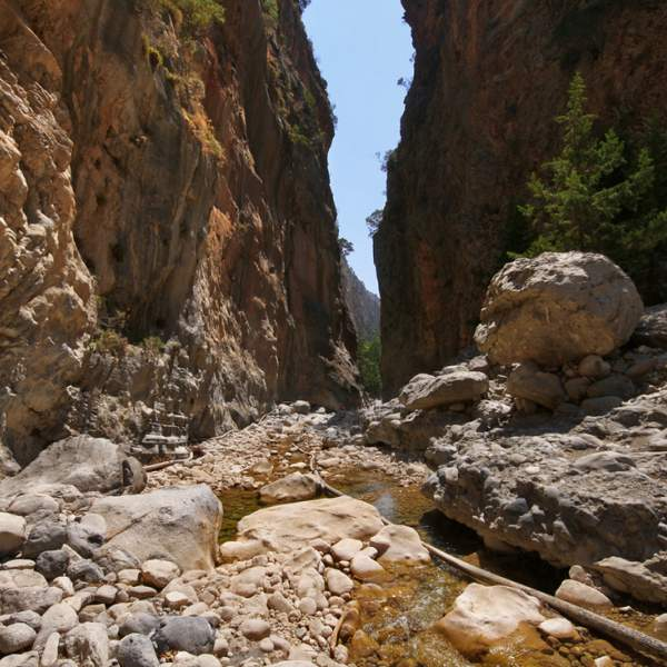 The heart of nature: the Samaria Gorges