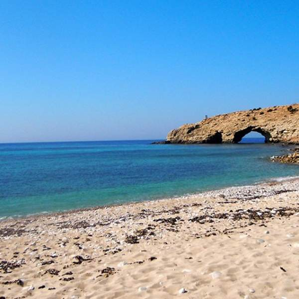 Trypitit Beach: the southernmost point of Europe