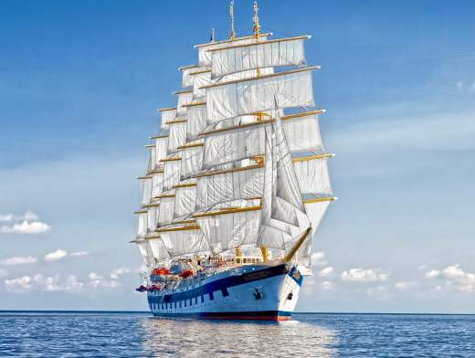 The Grenadines aboard the Royal Clipper