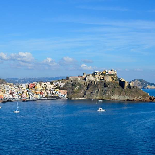The beautiful island of Procida