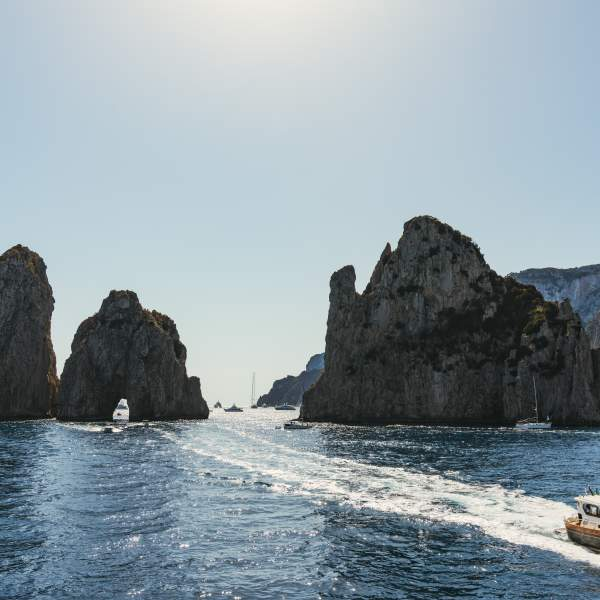 Capri Island and its Faraglioni