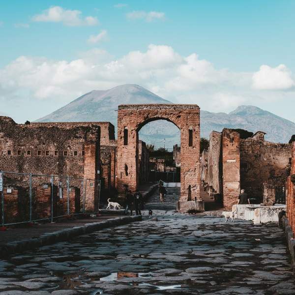 The amazing and well preserved archaeological area of Pompeii