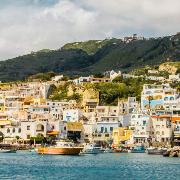 Ischia also known as the island of the Sun-god
