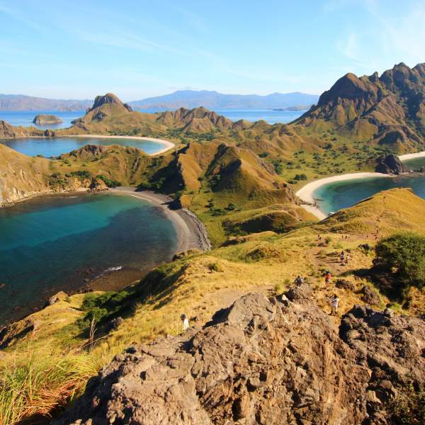 Padar, an island classified as a UNESCO World Heritage Site