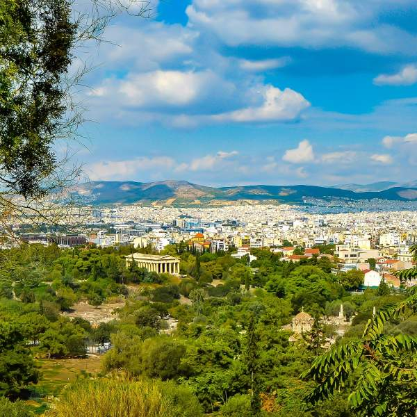 Athens,  a capital of a thousand and one riches