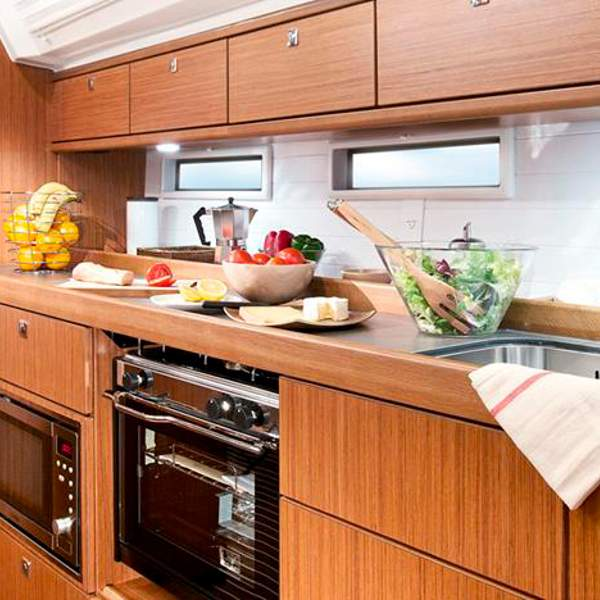 An ideal kitchen to prepare your favorite food