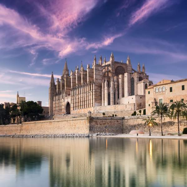 The sublime cathedral of Mallorca