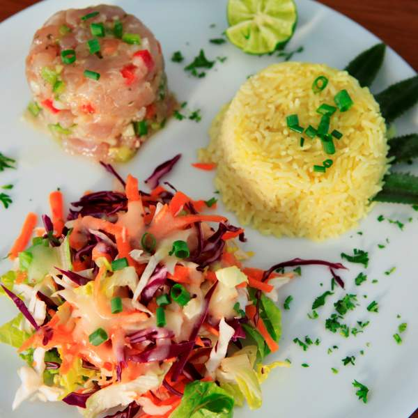 Enjoy a typical Tahitian cuisine