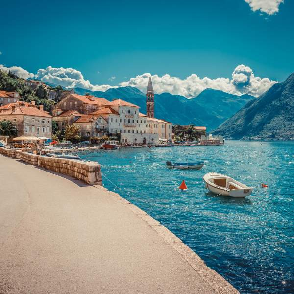 Welcome ot the beautiful city of Perast
