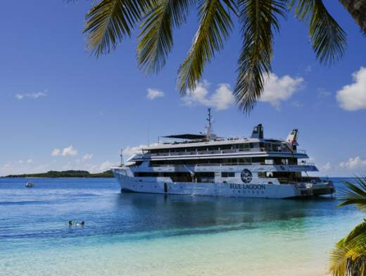 Discover Fiji aboard the Fiji Princess