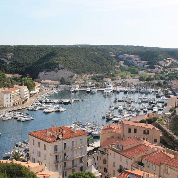 Bonifacio and its sublime fortified citadel