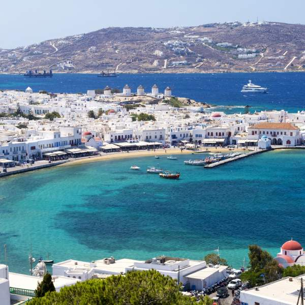 Relax on the beaches of Mykonos