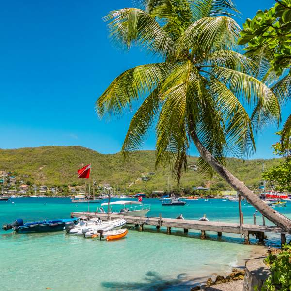 Bequia, a former whaling station