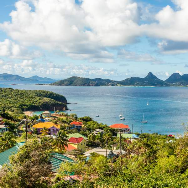 Mayreau and its sublime view of Union and St. Vincent