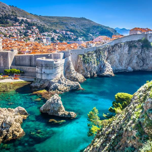 The beautiful walled city of Dubrovnik