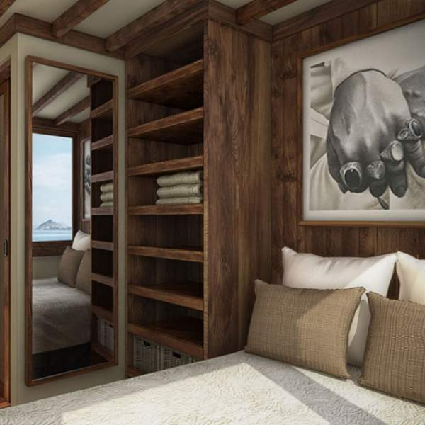 Comfortable and stylish bedrooms