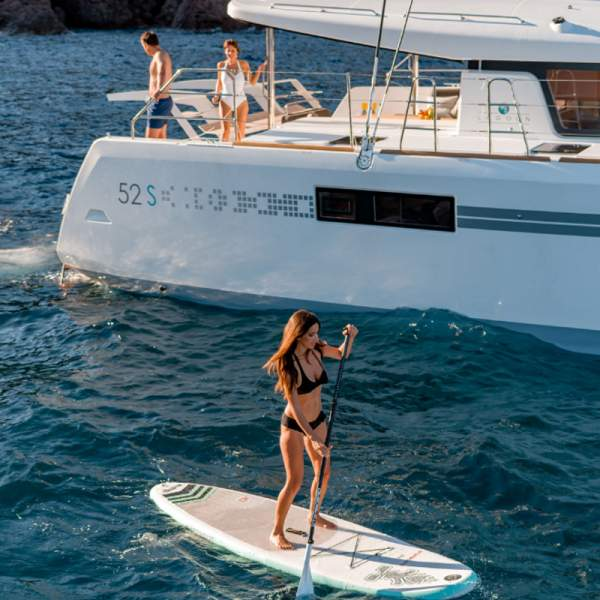 Enjoy some paddle boarding
