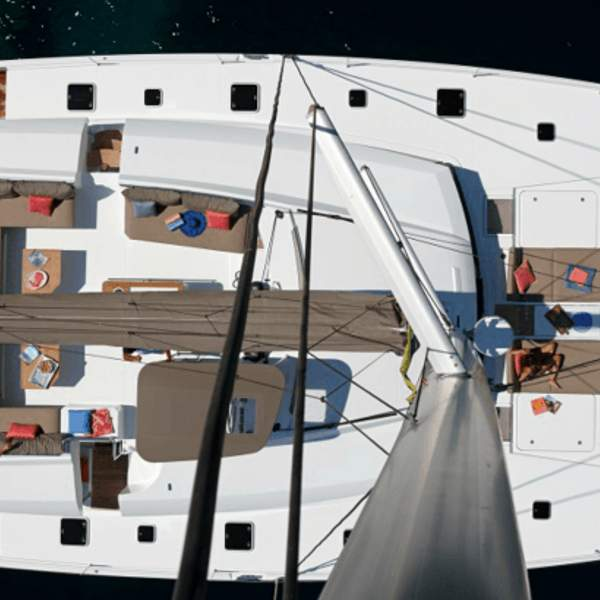 A catamaran built for comfort and enjoyment