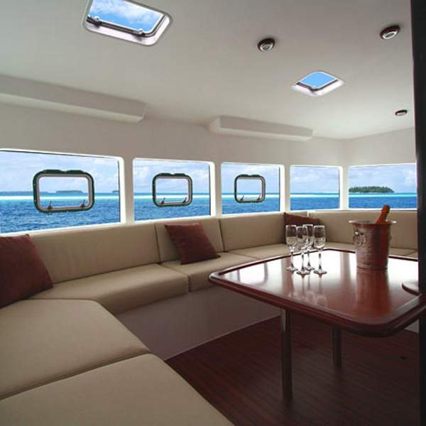 Saloon with exceptional views