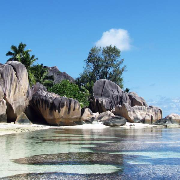 Anse Source Argent beach