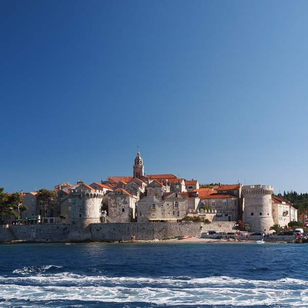 The heart of Korcula